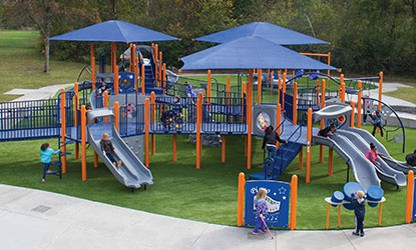 Artificial Playground Turf for Kids