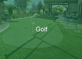 Artificial Turf Putting Green and Golf Products