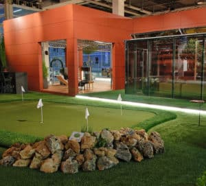 Commercial Artificial Grass Landscape - Putting Green