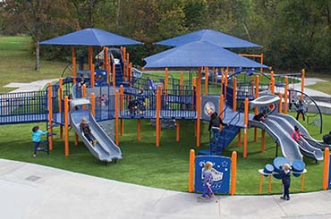 Artificial Playground Turf For Your Family