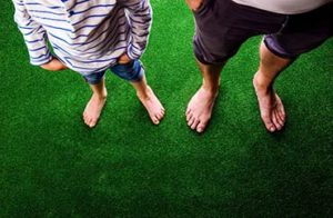 Artificial Turf Lawns can be used all Year Round