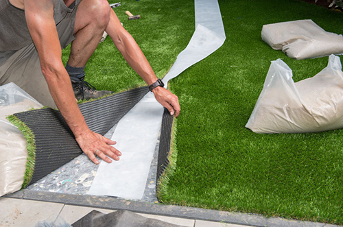 Install Artificial Turf to your Lawn by Yourself with Our Help