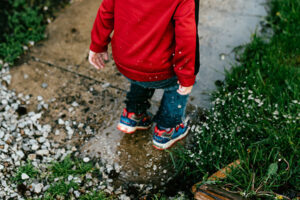 Artificial Turf - Mud during rain day