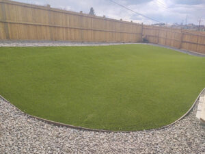Artificial Grass installed at Castle Rock, CO